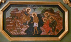 Икона центрального иконостаса храма Рождества Богородицы с.Льялово