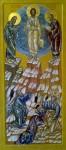 Икона Преображения Господня из иконостаса церкви Преображения Господня в д.Радумля, иконописец Евгений П.