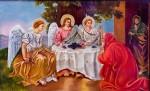 Икона Троицы Ветхозаветной Богородицерождественского храма с.Льялово, фото: Владимир Ветер