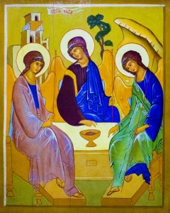 Икона Святой Троицы Богородицерождественского храма с.Льялово, фото: Владимир Ветер