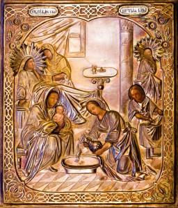 Икона Рождества Пресвятой Богородицы Богородицерождественского храма с.Льялово, фото: Владимир Ветер