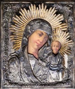 Казанская икона Божией Матери Богородицерождественского храма с.Льялово, фото: Владимир Ветер