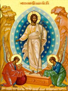 Икона Воскресения Христова, обработка: Владимир Ветер
