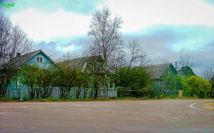 Деревня Льялово 2008 год, октябрь, обработка фото: Владимир Ветер
